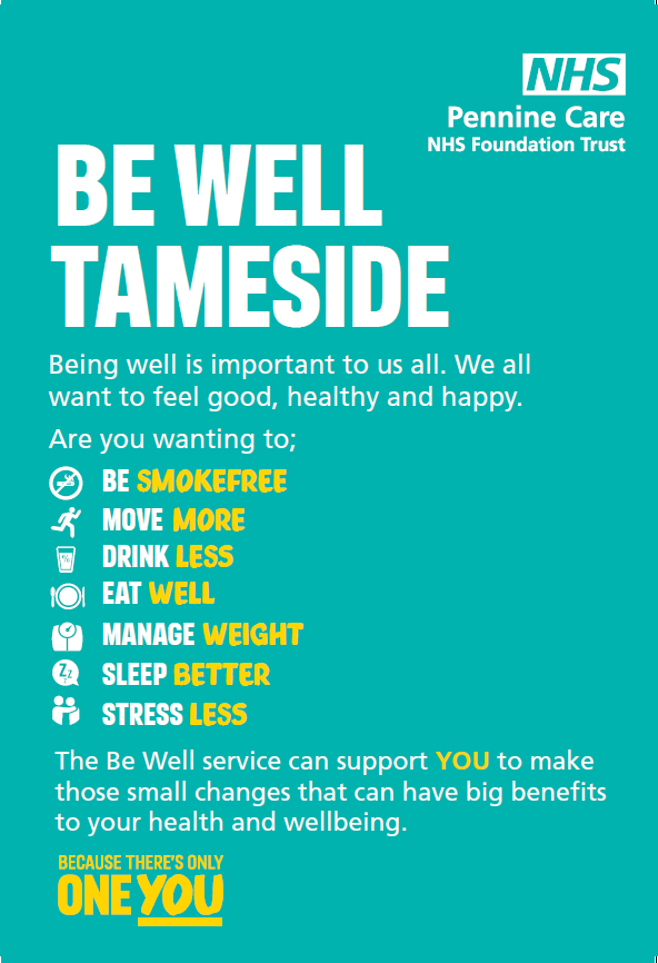 Be Well Tameside smokefree