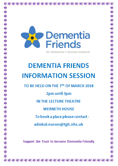 Dementia Friends poster