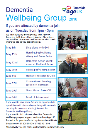 Tameside Age UK