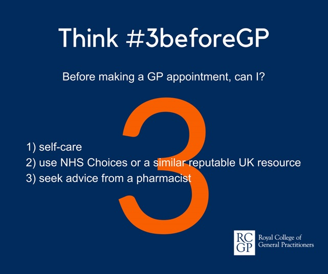 RCGP 3 before GP campaign image