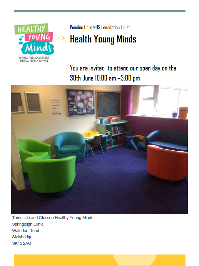 Healthy Young Minds Open Day