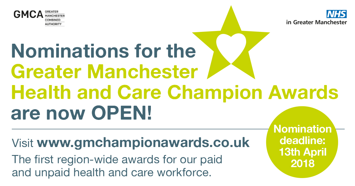 Awards: help celebrate our health and care champions