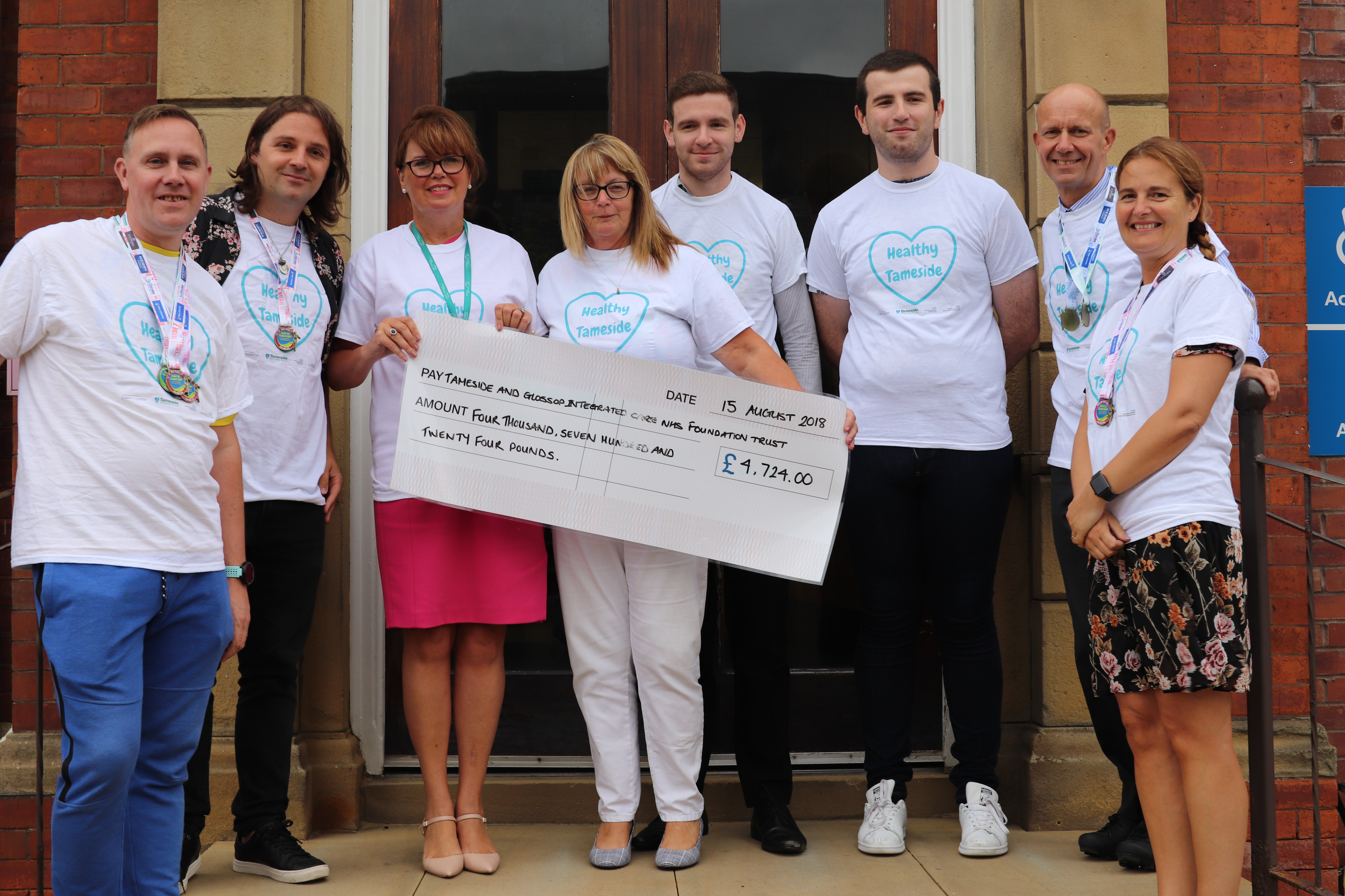 Tameside Hospital benefits from fundraising in memory of late council leader