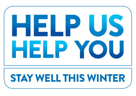 Help us help you this winter by getting your flu vaccination – it's free because you need it