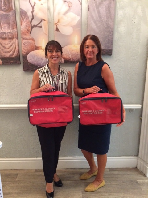 Care home/nursing home residents in Tameside and Glossop get Red Bags